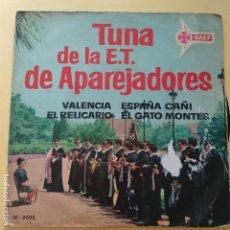 Discos de vinilo: EP TUNA DE LA E.T. DE APAREJADORES - VALENCIA. Lote 137554270