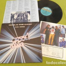 Discos de vinilo: KOOL & THE GANG - AS ONE 82 !! LEGEND FUNK SOUL !! ORG EDT USA + MERCHANDISE, TODO IMPECABLE !!. Lote 137555536