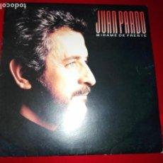 Discos de vinilo: LP-JUAN PARDO-MÍRAME DE FRENTE-HISPAVOX-1987-HOJA CON LETRAS-COMO NUEVO-VER FOTOS. Lote 137573494