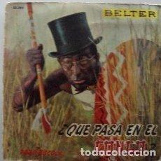 Discos de vinilo: DODO ESCOLA - QUE PASA EN EL CONGO + 2 - EP BELTER 1960. Lote 137575646