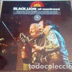 Discos de vinilo: BLACK LION ALLSTARS - BLACK LION AT MONTREUX (LP, ALBUM) LABEL:DISCOPHON CAT#: S 4286 . Lote 137581478