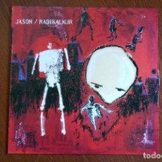 Discos de vinilo: JASON / RADIKALKUR SPLIT LP PUNK HARDCORE EMO. Lote 137588178