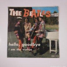 Discos de vinilo: THE BEATLES. - HELLO, GOODBYE / I AM THE WALRUS - SINGLE. TDKDS12. Lote 137608482