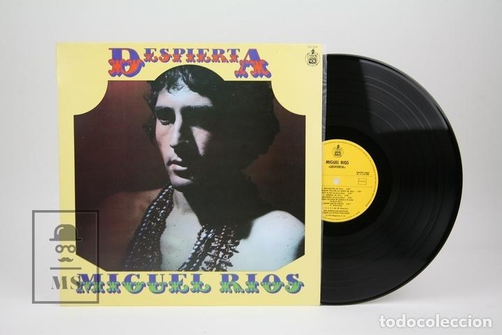 DISCO LP DE VINILO - MIGUEL RIOS / DESPIERTA - HISPA VOX - AÑO 1983 (Música - Discos - LP Vinilo - Solistas Españoles de los 70 a la actualidad)