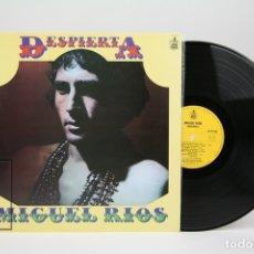 Discos de vinilo: DISCO LP DE VINILO - MIGUEL RIOS / DESPIERTA - HISPA VOX - AÑO 1983. Lote 137609652