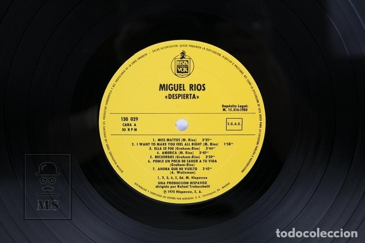 Discos de vinilo: Disco LP De Vinilo - Miguel Rios / Despierta - Hispa Vox - Año 1983 - Foto 2 - 137609652