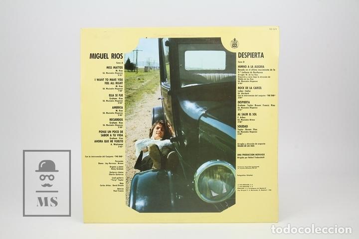 Discos de vinilo: Disco LP De Vinilo - Miguel Rios / Despierta - Hispa Vox - Año 1983 - Foto 3 - 137609652