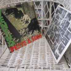 Vinyl records - Peste & Sida – Veneno.lp reed. 2015 de lp de 1987.inner.rastilho records.punk rock - 137613046