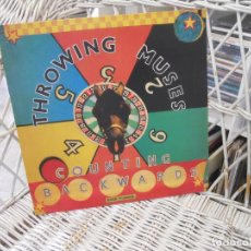 Discos de vinilo: THROWING MUSES – COUNTING BACKWARDS.EP ORIGINAL UK 1991.SELLO 4AD. Lote 137614522