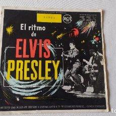 Discos de vinilo: EP A 33 RPM. DEL CANTANTE DE ROCK AND ROLL NORTEAMERICANO, ELVIS PRESLEY . Lote 137617958