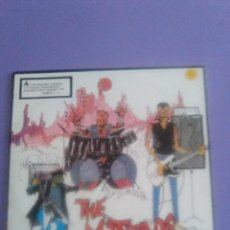 Discos de vinilo: GENIAL LP. THE METEORS- LIVE- ULTRA RARE SPANISH. AÑO 1983- 3 CIPRESES- 3C. 111. PUNK. PSYCHOBILLY. Lote 195028811