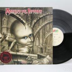 Discos de vinilo: DISCO LP DE VINILO - ANGELES DEL INFIERNO / 666 - WEA - AÑO 1988. Lote 137632100