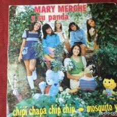 Discos de vinilo: SINGLE ORIGINAL AÑOS 60/70 DISCO MARY MERCHE Y SU PANDA. Lote 137642430