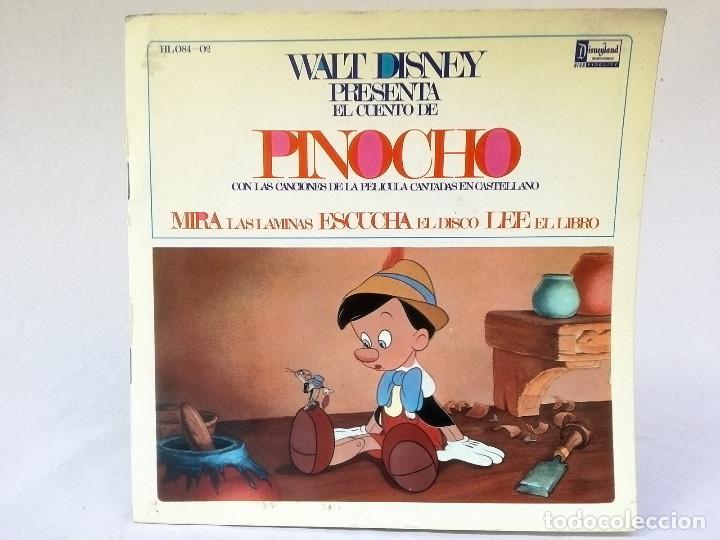 VINILO PINOCHO (Música - Discos - Singles Vinilo - Música Infantil)