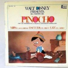 Discos de vinilo: VINILO PINOCHO. Lote 137643738