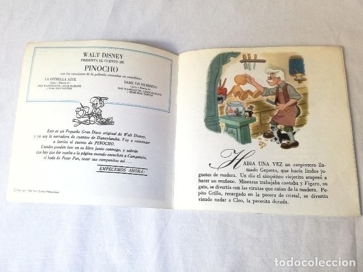 Discos de vinilo: Vinilo Pinocho - Foto 3 - 137643738