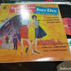 Discos de vinilo: LP ORIG USA 1961 JOEY DEE AND THE STARLITERS TWO TICKETS TO PARIS . Lote 137648282