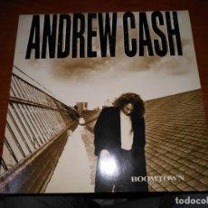 Discos de vinilo: ANDREW CASH - BOOMTOW. Lote 137648918