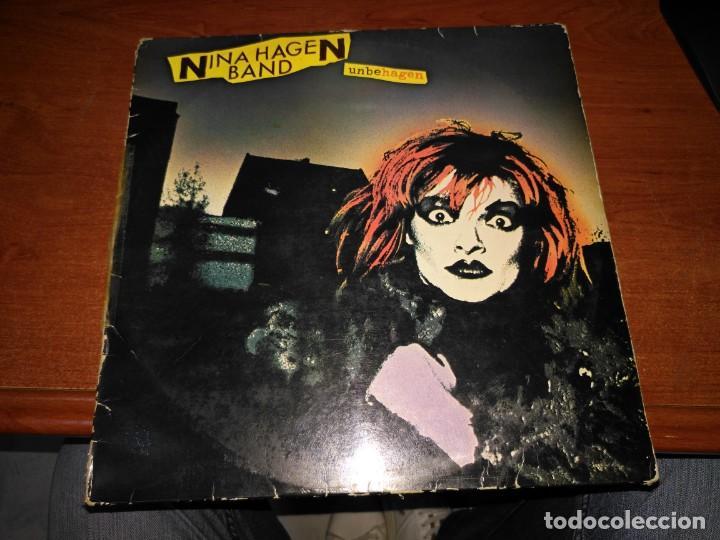 NINA HAGEN - UNBEHAGEN (Música - Discos - LP Vinilo - Rock & Roll)