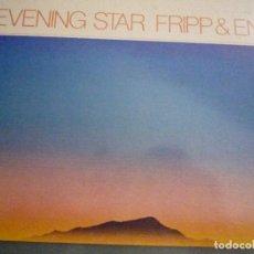 Discos de vinilo: BRIAN ENO-ROBERT FRIPP-EVENING STAR. Lote 137650478
