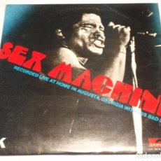 Discos de vinilo: JAMES BROWN ( SEX MACHINE ) ''RECORDED LIVE AT HOME IN AUGUSTA,GEORGIA WITH HIS BAD SELF'' DOBLE. Lote 137653462