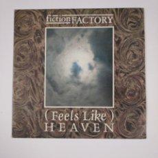 Vinyl records - FICTION FACTORY. - FEELS LIKE HEAVEN. SINGLE. TDKDS12 - 137657306