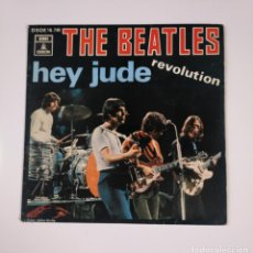 Discos de vinilo: THE BEATLES. - HEY JUDE - REVOLUTION. SINGLE. TDKDS12. Lote 137657982