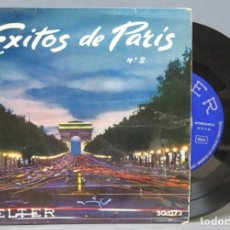 Discos de vinilo: SINGLE. EXITOS DE PARIS. Lote 137659306
