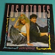 Discos de vinilo: LOS RATONES. ¿QUÉ QUEREIS?. Lote 137661174