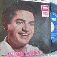 Discos de vinilo: ANTONIO MOLINA -EP 1965 -CUANDO SIENTO UNA GUITARRA - BUEN ESTADO. Lote 137662774