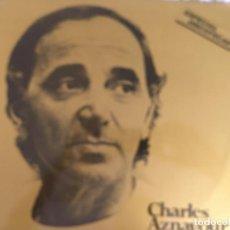 Discos de vinilo: LP CHARLES AZNAVOUR-ORO. Lote 137664366