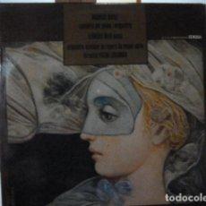 Discos de vinilo: CONCIERTO CONMEMRORATIVO DEL CENTENARIO DE LA INVENCION DEL FONOGRAFO PIANO ROSA SABATER . Lote 137667162