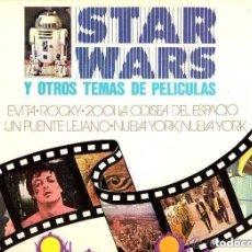Discos de vinilo: ORQUESTA 101 STRINGS – STAR WARS Y OTROS TEMAS DE PELÍCULAS - LP GRAMUSIC 1977. Lote 137703510