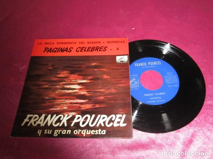 FRANCK POURCEL Y SU GRAN ORQUESTA 1963 SINGLE