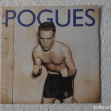Discos de vinilo: POGUES. PEACE AND LOVE. LP CON 14 CANCIONES.. Lote 137711734