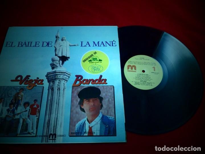 Discos de vinilo: EL BAILE DE LA MANÉ. VIEJA BANDA - Foto 2 - 137712210
