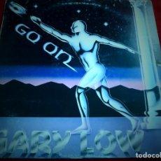 Discos de vinilo: LP GO ON. GARY LOW. Lote 137712406