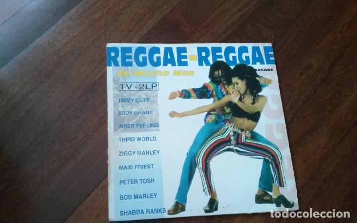 REGGAE-REGGAE .DOBLE LP (Música - Discos - LP Vinilo - Reggae - Ska)