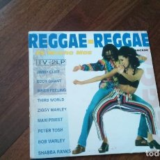 Discos de vinilo: REGGAE-REGGAE .DOBLE LP. Lote 137715194
