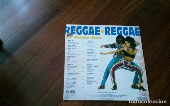Discos de vinilo: Reggae-reggae .doble lp - Foto 2 - 137715194