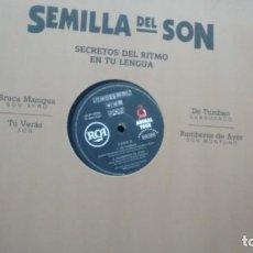 Discos de vinilo: MAXISINGLE (VINILO)-PROMOCION- SEMILLA DEL SON A´ÑOS 90. Lote 137715294