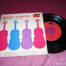 Discos de vinilo: VIOLINES ESPAÑOLES SINGLE. Lote 137716586