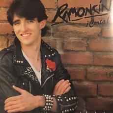 Discos de vinilo: RAMONCÍN : ¡CORTA! (LP. HISPAVOX, 1982). Lote 137718626