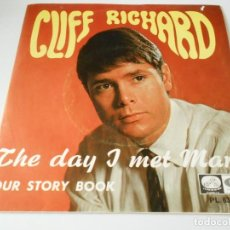 Discos de vinilo: CLIFF RICHARD, SG, THE DAY I MET MARIE + 1, AÑO 1967. Lote 137721946