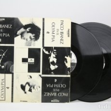 Discos de vinilo: DOBLE DISCO LP DE VINILO - PACO IBAÑEZ EN EL OLYMPIA - POLYDOR - AÑO 1972. Lote 137729692