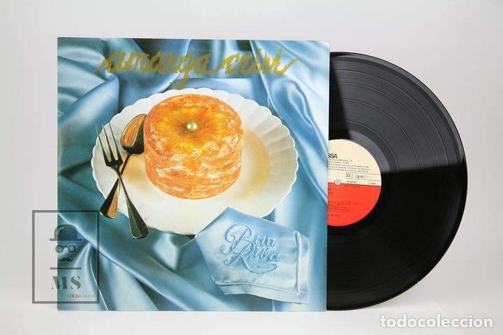 DISCO LP DE VINILO - PAU RIBA / AMARGA CRISI - EDIGSA - AÑO 1981 - CON LETRAS (Música - Discos - LP Vinilo - Solistas Españoles de los 70 a la actualidad)