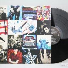 Discos de vinilo: DISCO LP DE VINILO - U2 / ACHTUNG BABY - ISLAND - AÑO 1991 - CON ENCARTE Y LETRAS. Lote 137733573