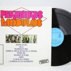 Discos de vinilo: DISCO LP DE VINILO - PEKENIKES / MODULOS - MUSIVOZ - AÑO 1981. Lote 137734377
