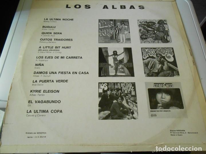 Discos de vinilo: LOS ALBAS, LP, LA ÚLTIMA NOCHE +11, AÑO 1969 - Foto 2 - 137744594