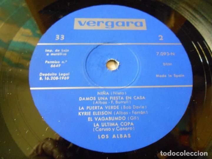 Discos de vinilo: LOS ALBAS, LP, LA ÚLTIMA NOCHE +11, AÑO 1969 - Foto 4 - 137744594